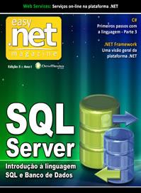 Mais uma capa: Transact-SQL na Easy .net Magazine