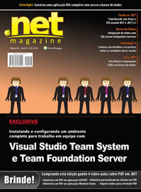 Artigo de SQL Server 2008 na .net Magazine edição 67