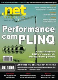 Meu artigo de PLINQ é capa da .net Magazine 70!