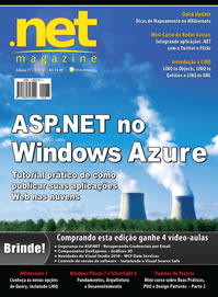 Minicurso de integração com Redes Socias na .net Magazine 77